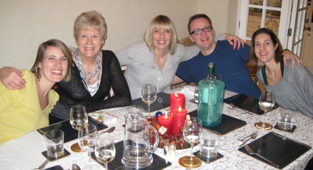Among Friends—My Ersatz Family at Christmas