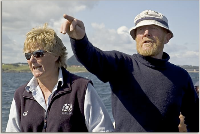 Chris Marr (1946-2012) Last of a Long Line of North Berwick Boatmen R.I.P.