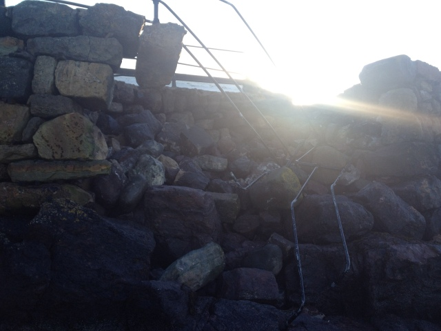 Hole in the Harbour Wall