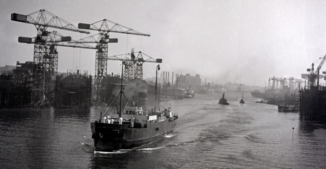The River Clyde in 1951