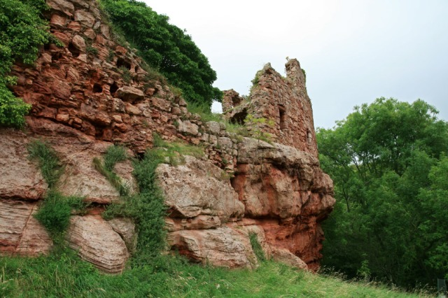 Innerwick Castle, East Lothian—Stronghold of the Hamilton Ancestors of the Earls of Haddington