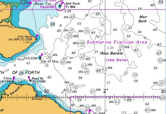 The Wee Bankie Area of the North Sea where Neart na Gaoithe Is Located