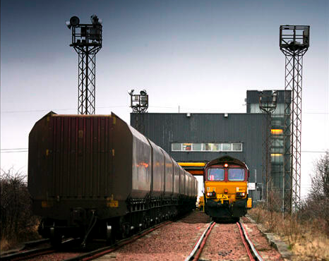 The Last Coal Trains at Cockenzie Coal-Handling Plant (© Phil Rider)