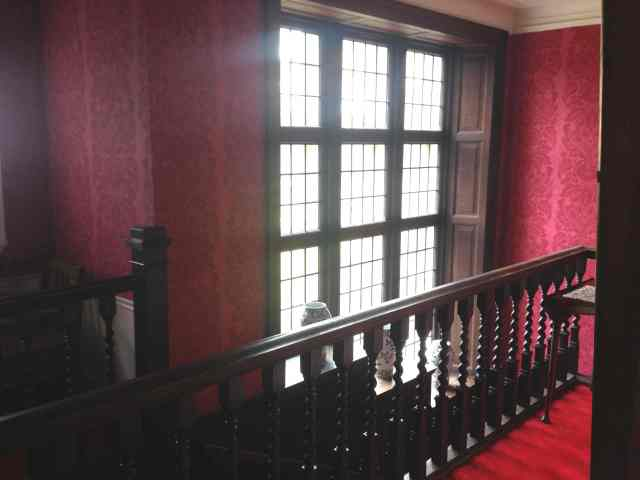 Main Stairway at Whatton Lodge