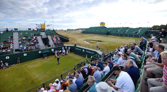 Muirfield Ready for the Open (copyright The Open)