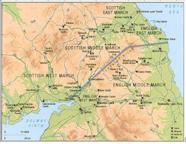 A New Border? The English East March Turns Scottish