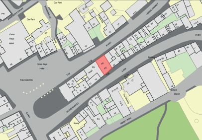 Location is in Central Kelso within 100m of the Square