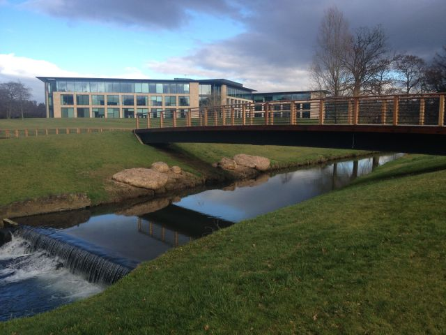 The RBS HQ Campus at Gogarburn
