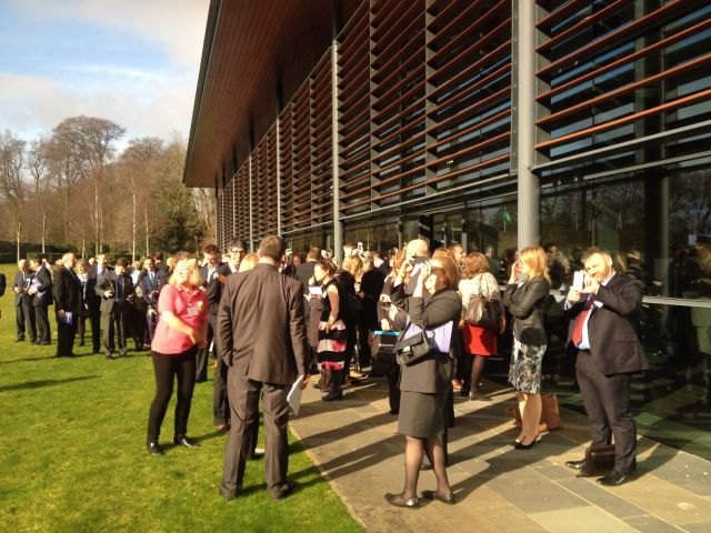 Interlude to Watch the Partial Eclipse during the SCDI Forum