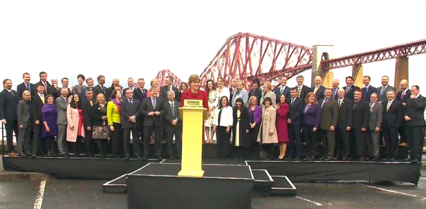 Up by 933%—Six Old MPs with 50 New Ones + NIcola