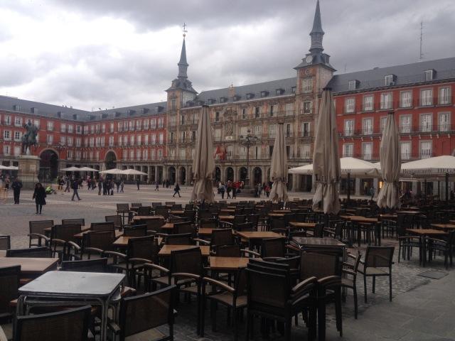 Plaza Mayor—the Heart of Madrid.
